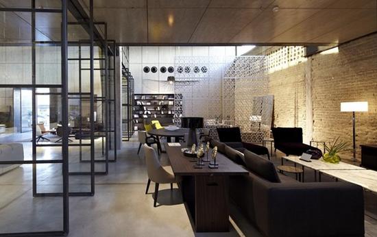 以色列特拉维夫b&b产品展示商店照明设计