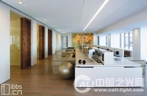旧金山artis 办公室照明设计