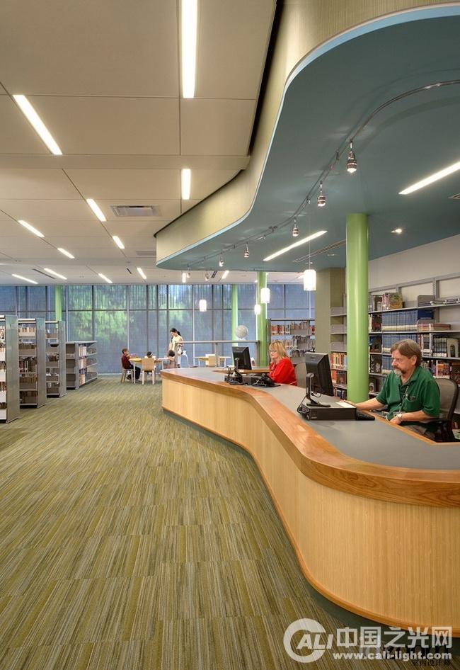 图书馆建筑照明设计分享展示