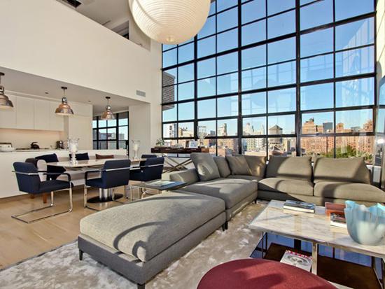 纽约当代复式公寓照明设计