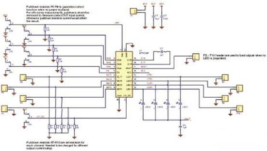图3 stp4cmp评估板电路图