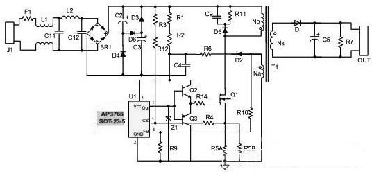 led灯具驱动电路原理分析