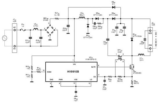 大功率led路灯照明驱动电源的优化设计