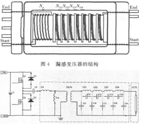 绿色照明ccfl电子镇流器的设计